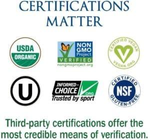 garden of life raw organic meal certificates