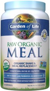 garden of life raw organic meal review