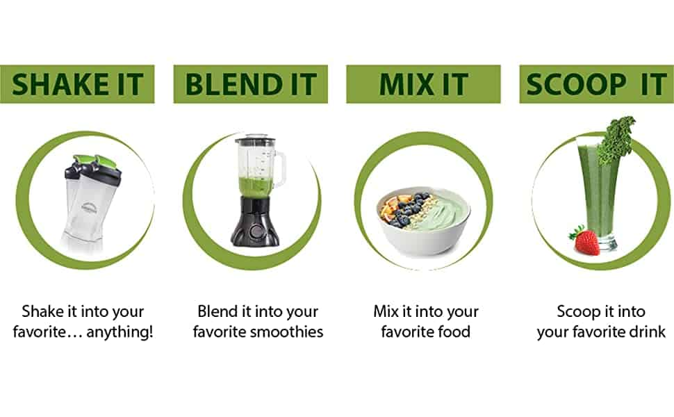 how to mix grown american superfood