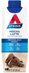 Atkins Mocha Latte Protein-Rich Shake