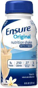 Ensure Original Nutrition Shake with Fiber