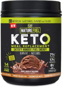 Healthy Delights Nature Fuel Keto Meal Replacement Powder