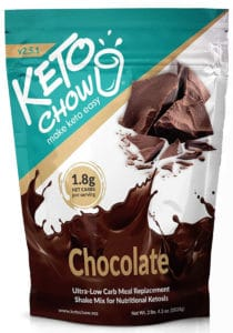 Keto Chow Keto Meal Replacement Shake
