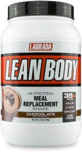 LABRADA Nutrition – Lean Body High Protein Meal Replacement Shake (Chocolate)