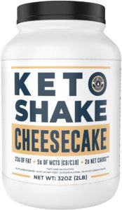 Left Coast Performance Cheesecake Keto Meal Replacement Shake
