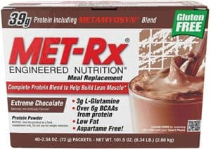 MET-Rx Original Whey Meal Replacement Shakes