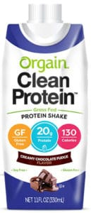 Orgain Grass Fed Clean Protein Shake (Chocolate)