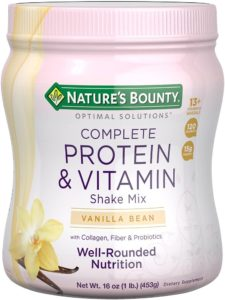 Protein Powder with Vitamin C by Nature's Bounty Optimal Solutions