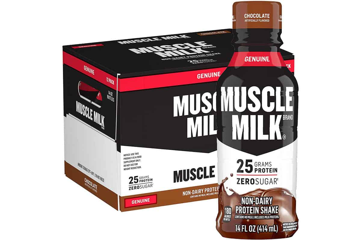 is muscle milk a meal replacement