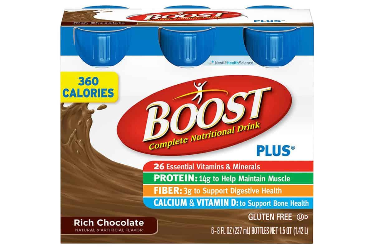 nestle boost nutritional shake