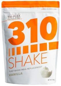 310 Shake - Vanilla Plant Based Meal Replacement Shake
