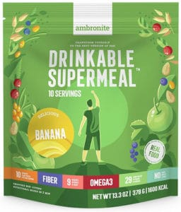 Ambronite Drinkable Supermeal - Meal Replacement Nutritional Shake