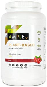 Ample V – Plant-Based Meal Replacement Shake