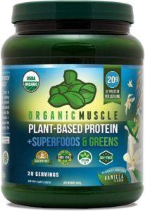 Organic Muscle Organic Plant-Based Shake