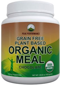 Organic Vegan Paleo Meal Replacement Powder