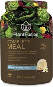 PlantFusion Complete Meal All Plant-Based Pea Protein Powder