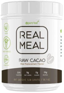 Pure Food Real Meal Replacement Powder