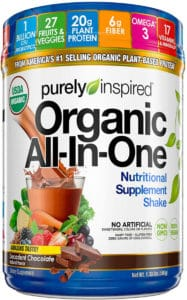 Purely Inspired Organic All In One Nutritional Supplement Shake