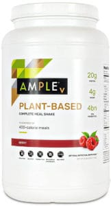 Ample Berry Plant Based Vegan Canister