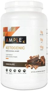 Ample Chocolate Ketogenic Canister