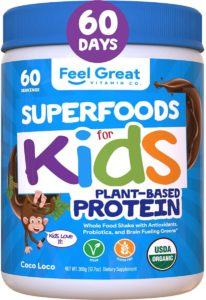Green Superfoods for Kids Protein Powder