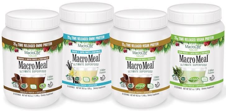 MacroMeal Flavors