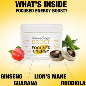 Shakeology Boost Focused Energy
