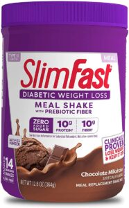 Slimfast Diabetic Weight Loss Shake Mix