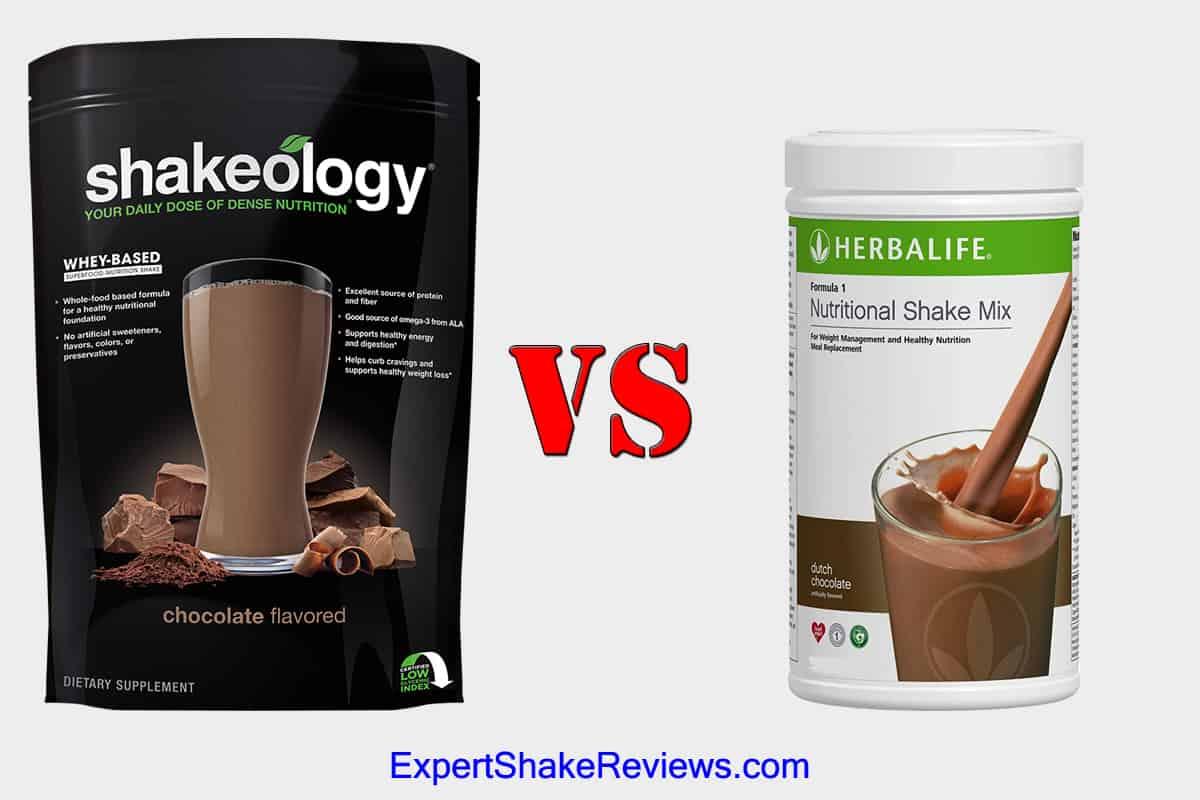 Shakeology vs Herbalife