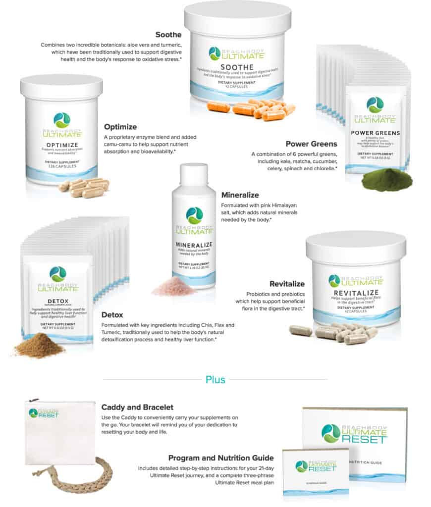Beachbody Ultimate Reset Supplements