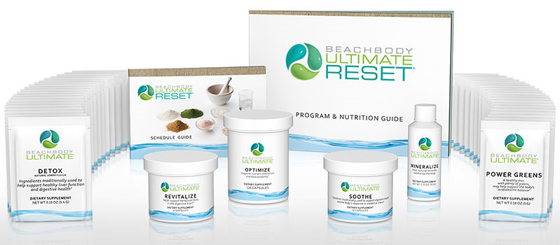 beachbody ultimate reset kit