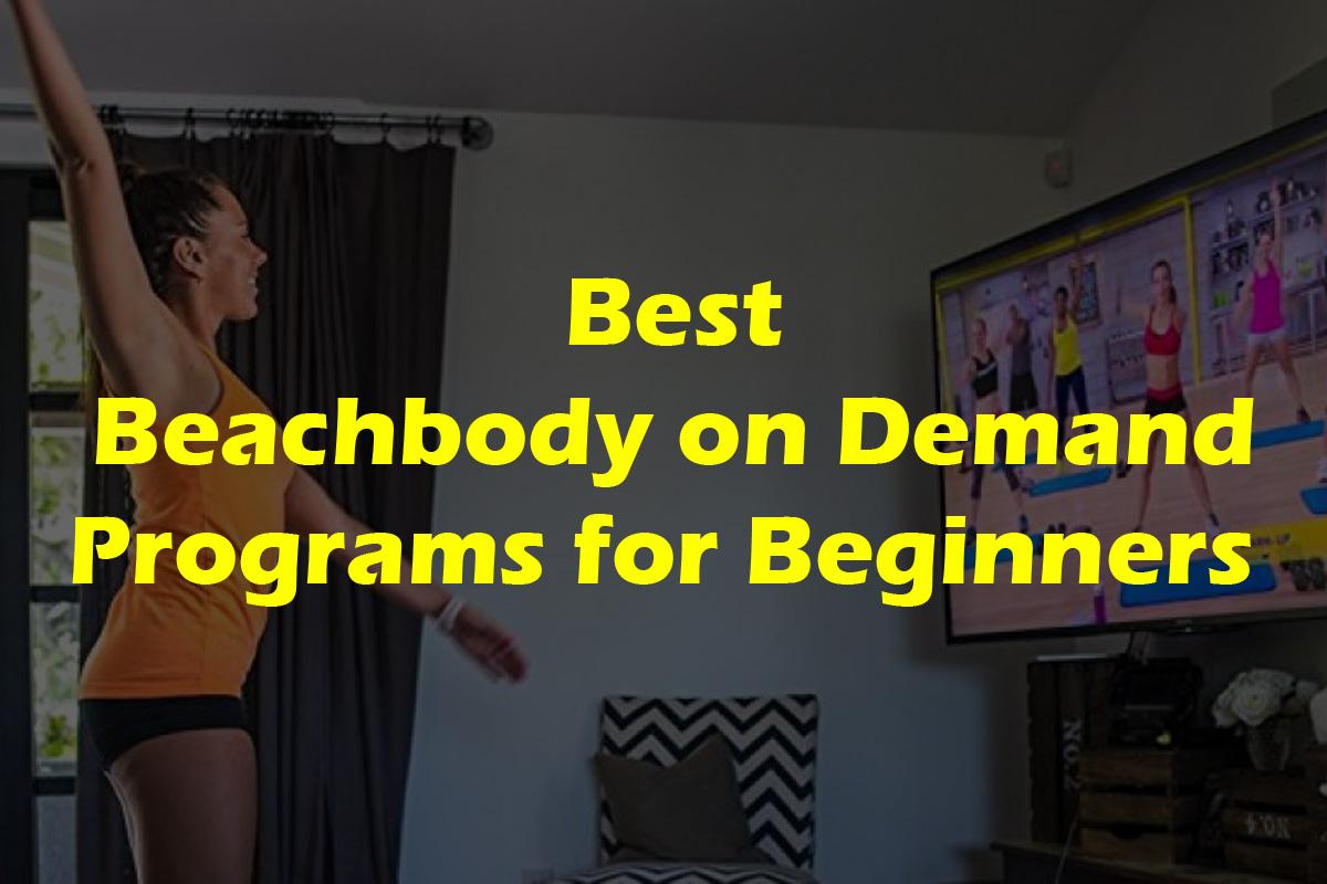Best Beachbody on Demand Programs for Beginners